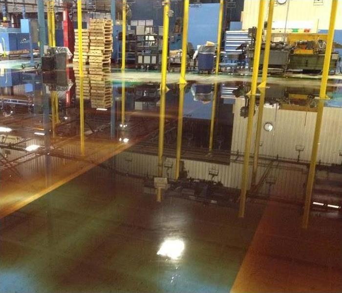 Commercial Black Water Damage