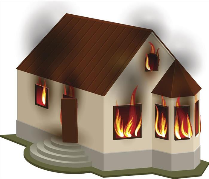 Why SERVPRO Fire in Your Orlando Property! Make the Call to SERVPRO